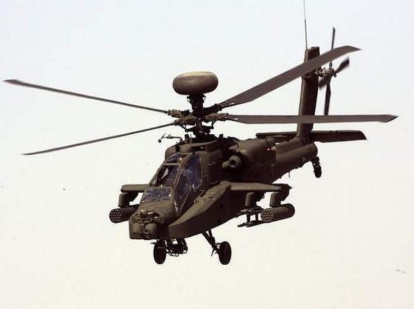 Máy bay trực thăng tấn công Apache của Ấn Độ