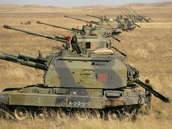 Lực lượng pháo binh của quân đội Syria