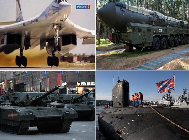 """Năm 2016, Nga trang bị hàng loạt vũ khí """"khủng"""""""