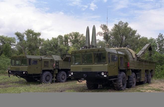 Tên lửa đạn đạo chiến thuật tầm ngắn Iskander-M của Nga