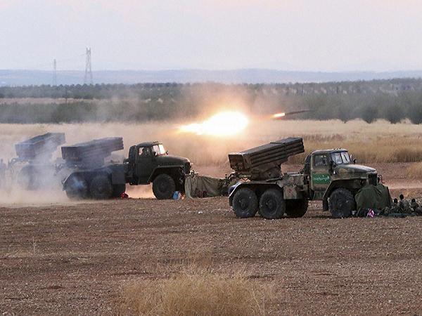 Quân đội Syrian tấn công một căn cứ của lực lượng khủng bố IS