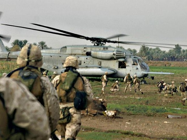 Lính Mỹ triển khai tại Iraq
