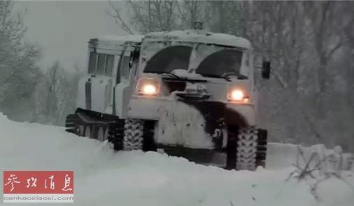 Hạm đội Phương Bắc của Nga thử nghiệm loại xe đặc chủng độc nhất vô nhị ảnh 1