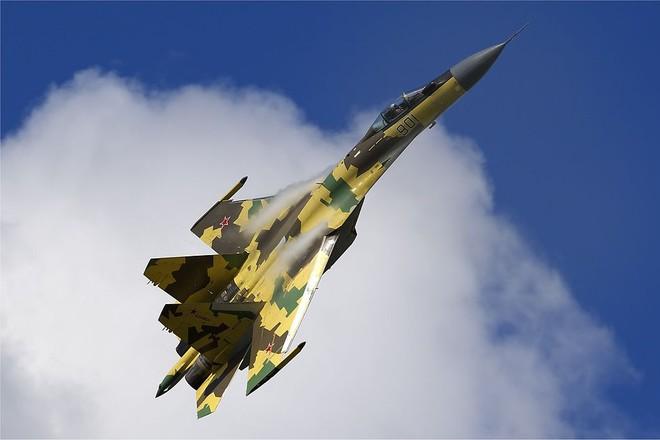 Lần đầu tiên Nga điều tiêm kích Su-35S thực chiến tại Syria ảnh 1
