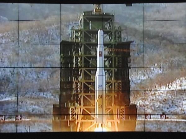 Một vụ phóng tên lửa tầm xa của Triều Tiên