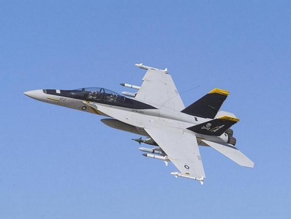 Máy bay chiến đấu F/A-18 của hải quân Mỹ