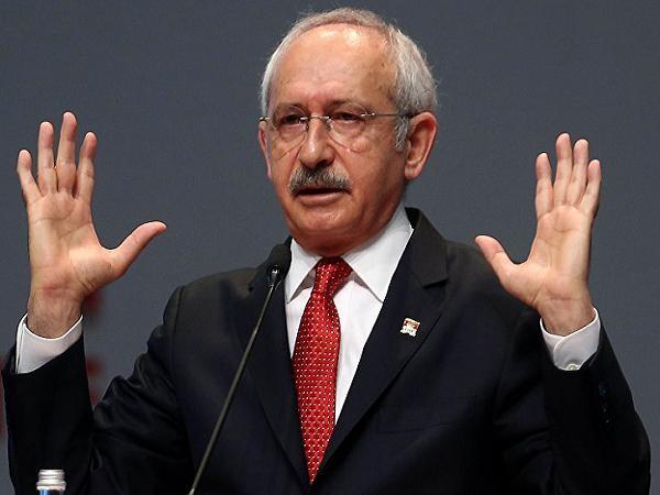 Lãnh đạo Đảng Cộng hòa Nhân dân đối lập Thổ Nhĩ Kỳ Kemal Kilicdaroglu