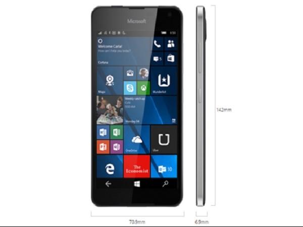 Lumia 650 chính thức ra mắt: Màn hình 5 inch, vỏ nhôm, giá bán 200 USD. ảnh 5