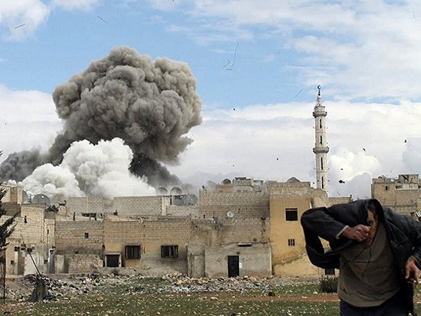 Một vụ nã pháo tại tỉnh Aleppo của Syria