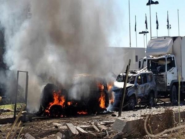 Hiện trường một vụ đánh bom ở Yemen