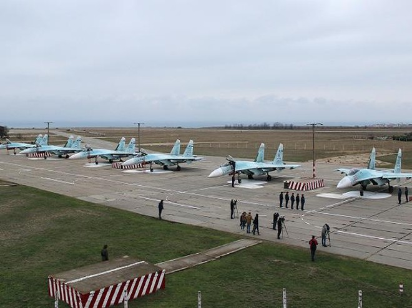 Nga khôi phục một căn cứ không quân tại Crimea cho Hạm đội biển Đen ảnh 1
