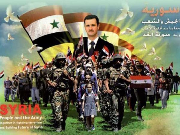 """Tổng thống Syria khẳng định chính quyền và nhân dân nước này sẽ cương quyết """"bảo vệ chủ quyền"""""""
