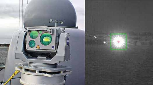 Thử nghiệm vũ khí laser