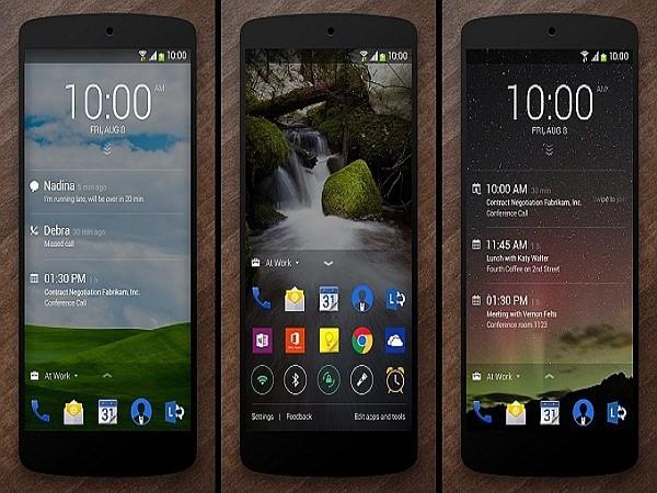 Microsoft nâng cấp lần tiếp theo cho ứng dụng Next Lock Screen trên Android ảnh 1