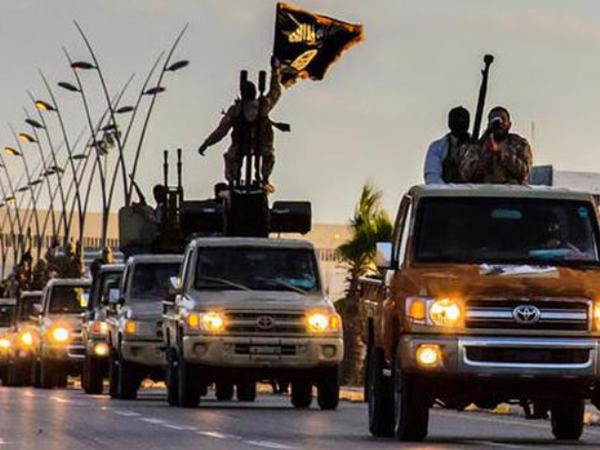 IS hành quyết 12 nhân viên an ninh Libya ảnh 1