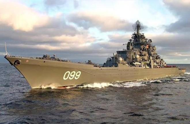 Tuần dương hạm Peter Đại đế của Nga