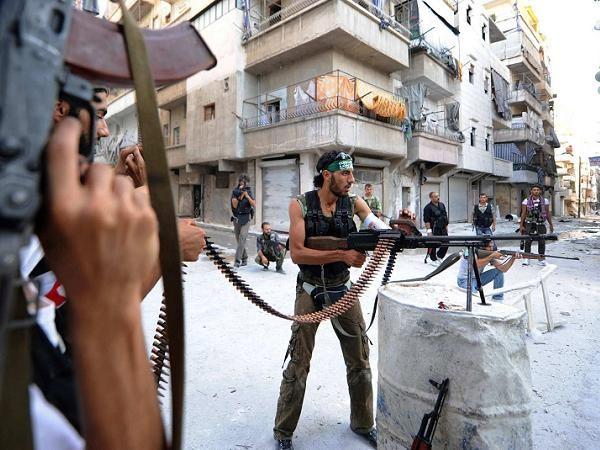 Quân nổi dậy Syria đang ngăn chặn một cuộc tấn công của quân chính phủ