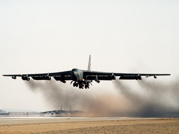 Máy bay ném bom chiến lược B-52 của không quân Mỹ