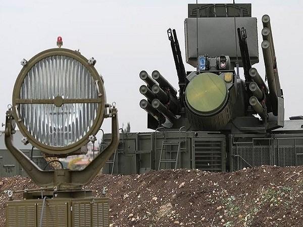 Hệ thống pháo/tên lửa phòng không Pantsir-S1 của Nga tại căn cứ Hmeymim