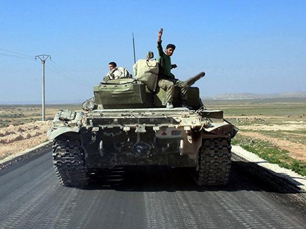 Quân đội Syria tiến về thị trấn Khanasser, gần Aleppo, sau khi chiếm được thị trấn nàyhôm 29-2