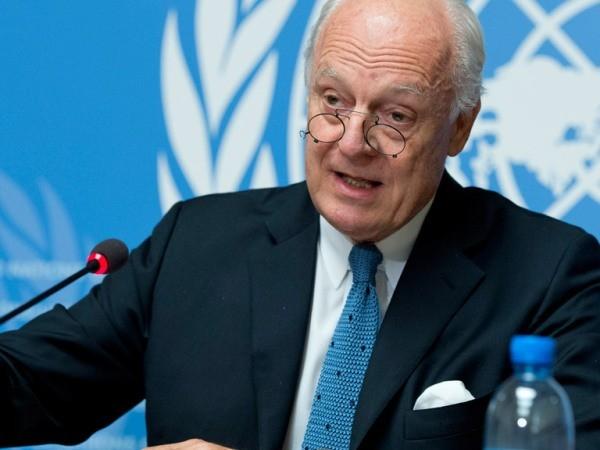 Đặc phái viên LHQ về vấn để Syria, ông Staffan de Mistura