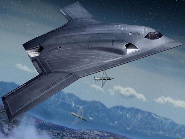 Mô hình máy bay ném bom tầm xa LRS-B của Mỹ
