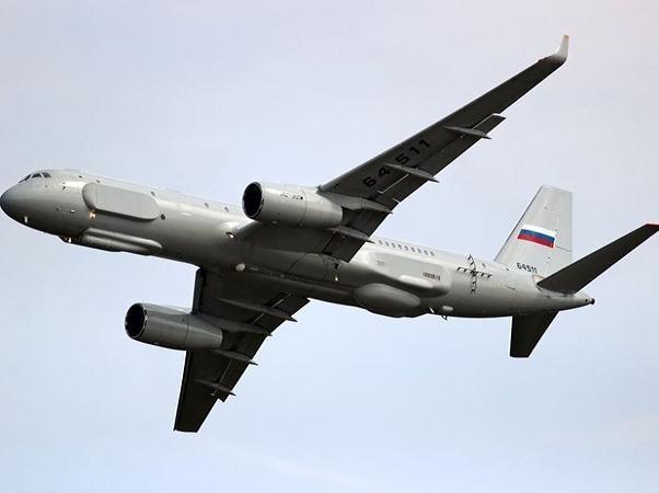 Nga đã tăng cường sang Syria một máy bay trinh sát điện tử và giám sát chiến trường Tupolev Tu-214R