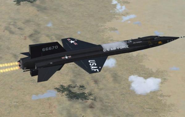 Máy bay thử nghiệm tốc độ siêu nhanh X-15