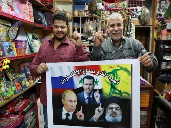 Ông Putin sánh ngang với các lãnh tụ ở Syria