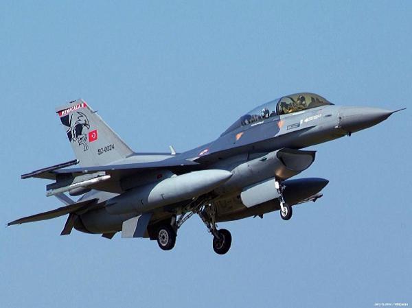 Máy bay chiến đấu F-16 của Thổ Nhĩ Kỳ
