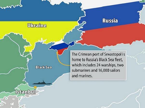 Khá nhiều nước đã in bản đồ thể hiện Ukraine thuộc Nga (Ảnh minh họa)