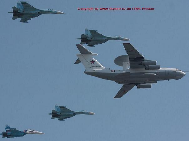 Máy bay chỉ huy-cảnh báo sớm trên không Beriev A-50 Mainstay của Nga