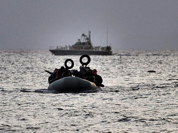 Người di cư đang vượt biển Aegean để tới Thổ Nhĩ Kỳ