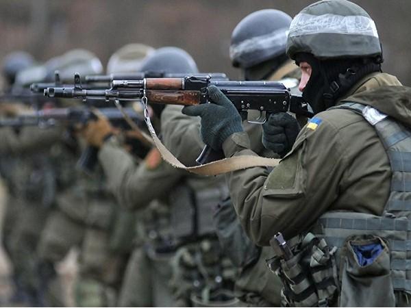 Cố vấn quân sự Thổ Nhĩ Kỳ huấn luyện lính đánh thuê gần Crimea ảnh 1