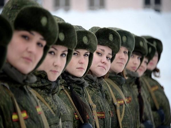 Tổng cộng có 60 nữ quân nhân đã tham gia vào cuộc thi.