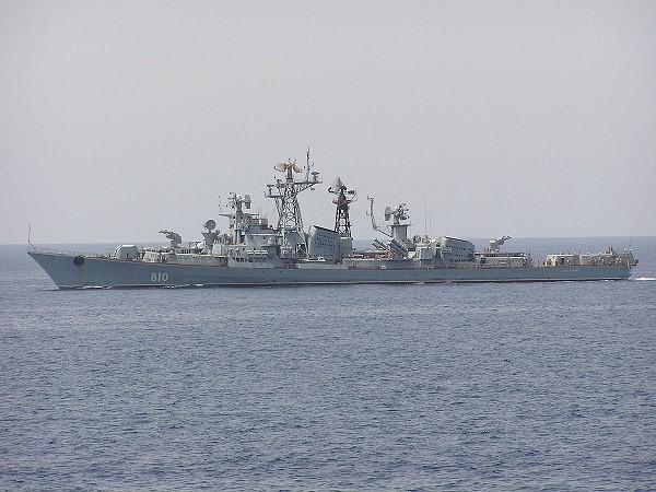 Tàu khu trục Smetlivy của hải quân Nga