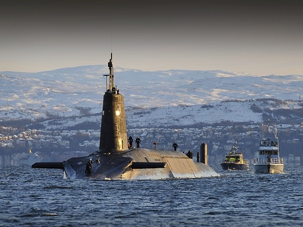 Tàu ngầm hạt nhân Vanguard của hải quân Hoàng gia Anh