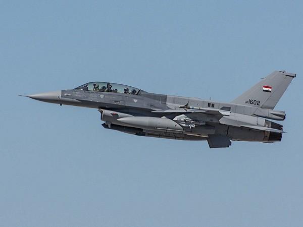 Máy bay chiến đấu F-16 của không quân Iraq