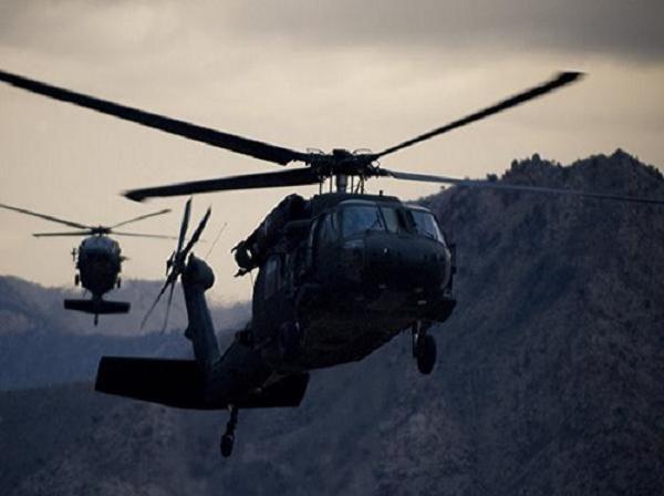 Trực thăng UH-60 Black Hawk của lục quân Mỹ