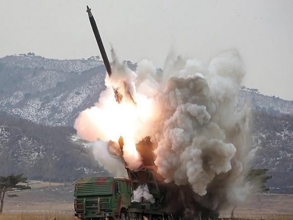 Hệ thống rocket đa nòng mới được Triều Tiên công bố hôm 4-3 vừa qua