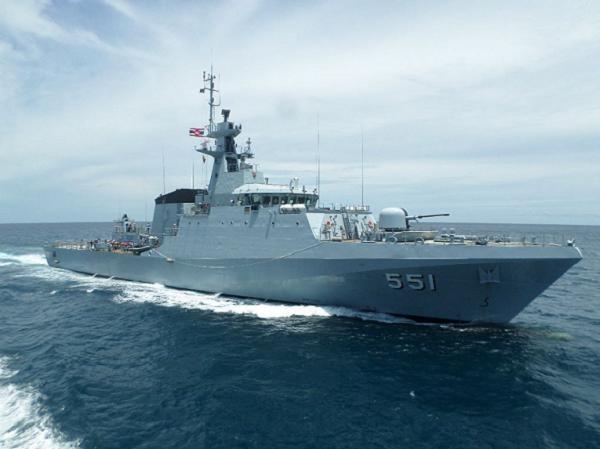 Tàu tuần tra xa bờ HTMS Krabi của hải quân Hoàng gia Thái Lan