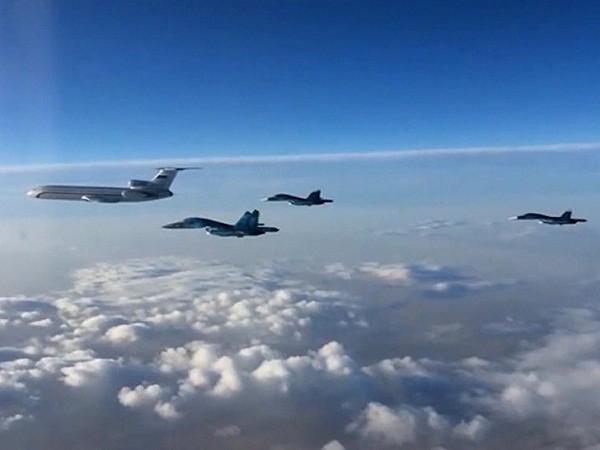 Tốp máy bay đầu tiên của Nga trên đường trở về từ Syria hôm 15-3