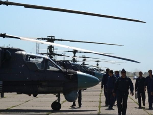 Lực lượng không quân Nga tham chiến tại Syria