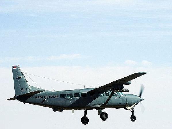 Máy bay Cessna của không quân Iraq