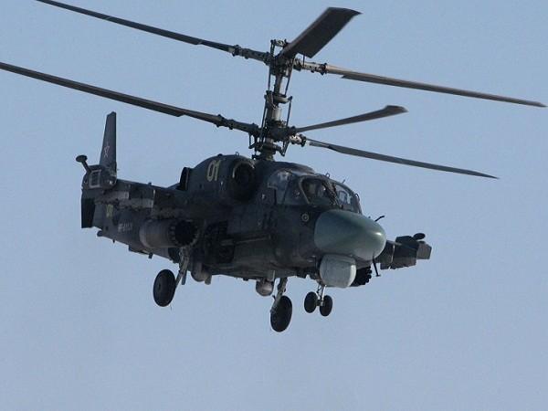 Máy bay trực thăng Ka-52 của Nga