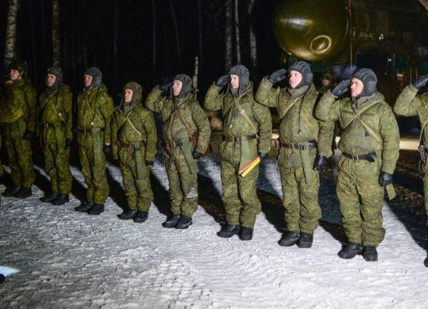 Lực lượng quân đội Nga