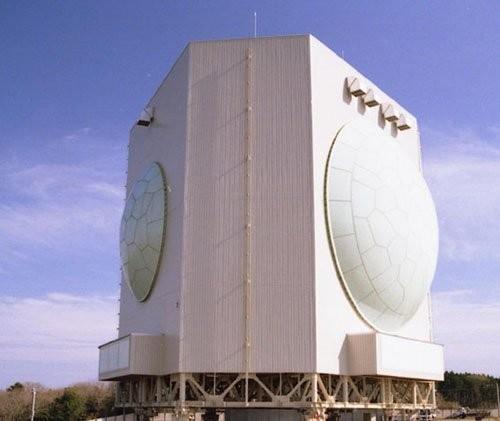 Radar cảnh giới tầm xa cỡ lớn FPS-5 của Nhật Bản