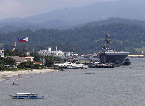 Subic từng là cơ sở lớn nhất của Hải quân Hoa Kỳ tại Thái Bình Dương
