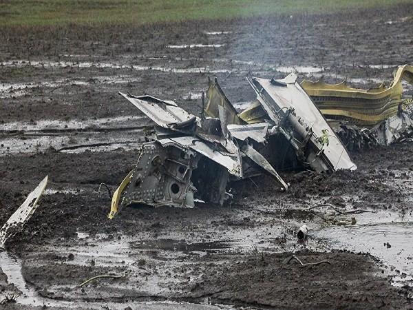 Hiện trường vụ máy bay rơi ở Nga ngày 19-3