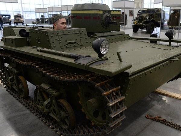 Xe tăng lội nước T-38A